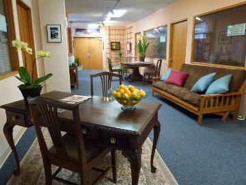 The Center For Health Main Lobby